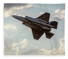 Raaf F-35a Lightning II Joint Strike Fighter Fleece Blanket