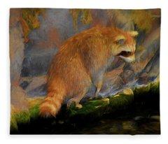 Raccoon 81419 Fleece Blanket