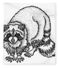 Raccoon Fleece Blanket