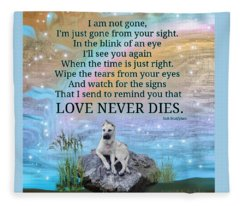 Raider Love Never Dies Fleece Blanket