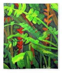 Rain Forest Memories Fleece Blanket