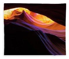 Rainbow Canyon Fleece Blanket