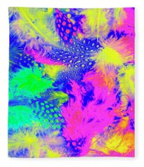 Rainbow Radiance Fleece Blanket