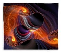 Rainbow Symphony-2 Fleece Blanket