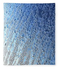Raindrop Abstract Fleece Blanket