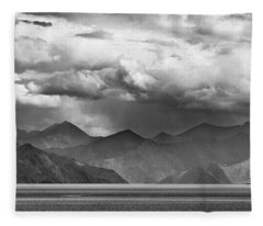 Fleece Blanket featuring the photograph Rains In China by Whitney Goodey