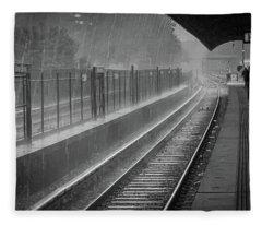 Rainy Days And Metro Fleece Blanket