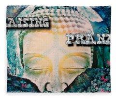 Raising Prana Fleece Blanket