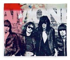 Ramones Fleece Blanket