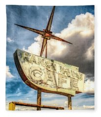 Ranch House Cafe Fleece Blanket