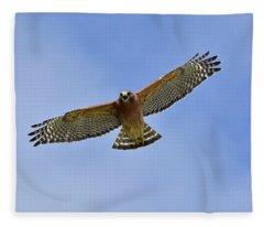 Raptor Bellow Fleece Blanket