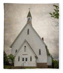 Raquette Lake Chapel Fleece Blanket
