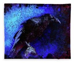 Raven Fleece Blanket