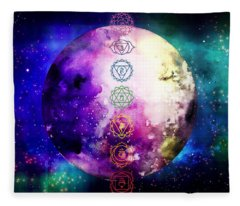 Reach Out To The Stars Fleece Blanket