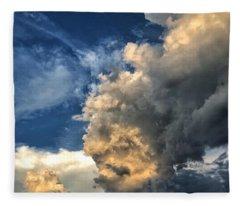 Reaching Toward Heaven Fleece Blanket