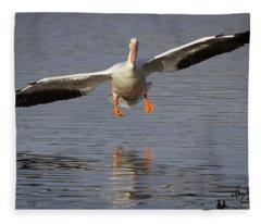 Ready For Landing Fleece Blanket