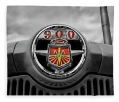 Ready For More... Ford Tractor 900 Series Fleece Blanket
