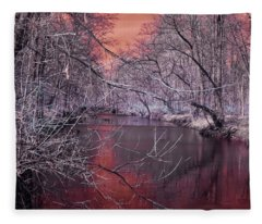 Red Creek Fleece Blanket
