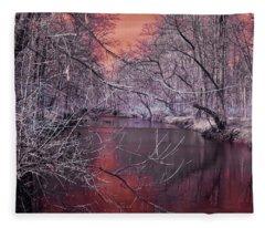 Red Creek Fleece Blanket