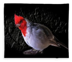 Red Head Fleece Blanket