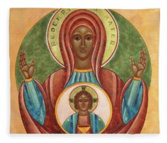 Redemptoris Mater Fleece Blanket