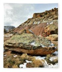 Redland Mesa Near Colorado National Monument Fleece Blanket