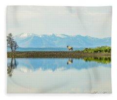 Reflections Of Nature Fleece Blanket