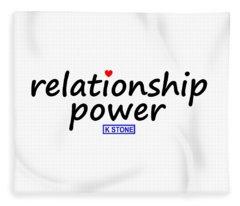 Relationship Power Fleece Blanket