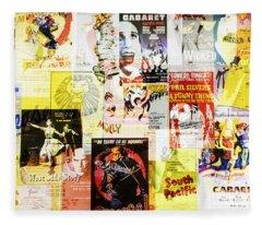 Remembering Broadway Fleece Blanket