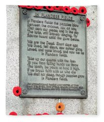 Remembrance Day Fleece Blanket