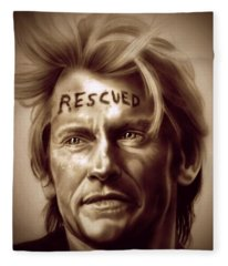 Rescue Me Fleece Blanket