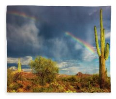 Fleece Blanket featuring the photograph Respite From The Storm by Rick Furmanek