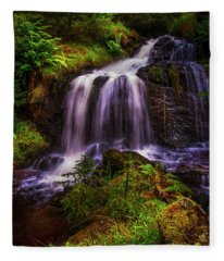 Retreat For Soul. Rest And Be Thankful. Scotland Fleece Blanket