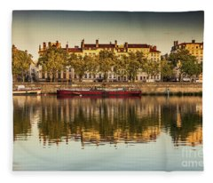 Rhone Morning Fleece Blanket