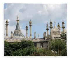 Brighton Royal Pavilion 2 Fleece Blanket
