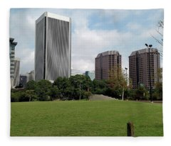 Richmond Cityscape Fleece Blanket
