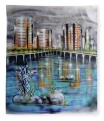 Richmond Va Fleece Blanket
