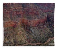 Ridge Lines Fleece Blanket