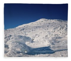 Rime And Snow, And Mountain Trolls. Fleece Blanket
