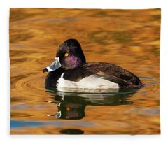 Ring-necked Duck Fleece Blanket