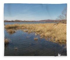 River Grass Fleece Blanket