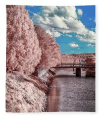 River Walk Fleece Blanket