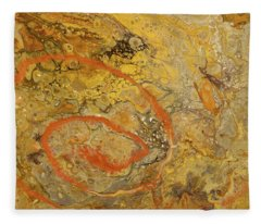 Riverbed Stone Fleece Blanket