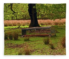 Rivington. Terraced Gardens. Feeding Trough. Fleece Blanket