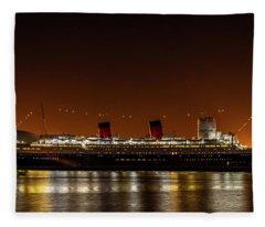 Rms Queen Mary Fleece Blanket