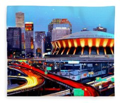 Road To The Dome Fleece Blanket