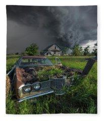 Road's End  Fleece Blanket