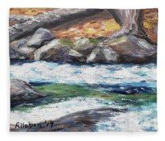 Roaring Brook Fleece Blanket