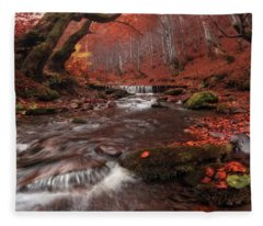 Roaring Waters Fleece Blanket