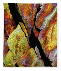 Rock Art 17 Fleece Blanket